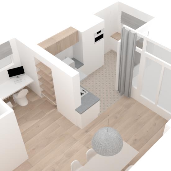 Interieurontwerp voor gehele woning - voorbeeld in Sketchup!