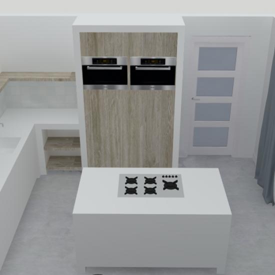 Interieurontwerp van een Nieuwbouwwoning